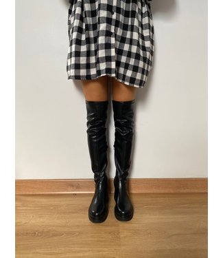 Pure Sense OVER THE KNEE LEATHER BOOTS