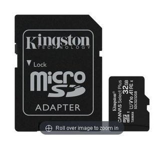 Kingston Canvas Select Plus Micro SD 32 GB