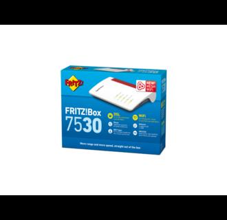 FRITZ!Box 7530 Router WiFi AC, 4 Gigabit ports, DSL / VDSL, DECT Base, 1 telephony analog port, 1 USB