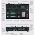 Roland AV Roland V-600UHD 4K HDR Multi-Format Video Switcher with SDI, HDMI I/O