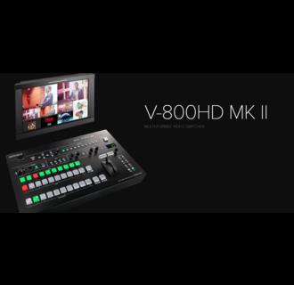 Roland V-800HD MKII 8 Channel HD-SDI/DVI-D Multi-format Video Switcher