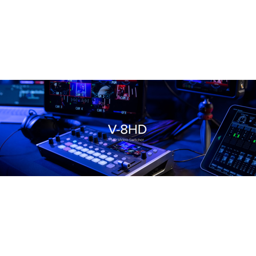 Roland AV Roland V-8HD 8 Channel HDMI Video Switcher