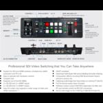 Roland AV Roland V-1SDI 3G-SDI VIDEO SWITCHER, 3 SDI in, 2 HDMI in, SDI out