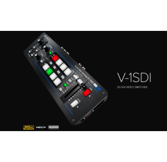 Roland V-1SDI 3G-SDI VIDEO SWITCHER, 3 SDI in, 2 HDMI in, SDI out