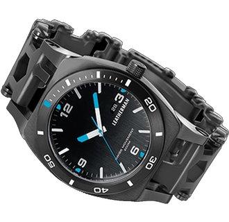 Multitool-horloge, LeathermanTreadTempo, 30f, zwart DLC