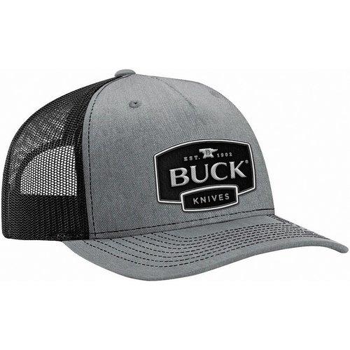 BUCK KNIVES BUCK CAP, TRUCKER GRIJS - ZWART