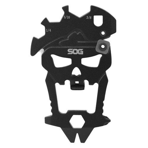 SOG Multitool, SOG, MacVTool, 12 in 1, 3CR13, zwart