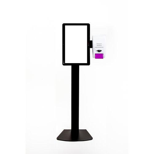 SANITOTEM 13 INCH MET SANITIZER Dispenser BELGISCH FABRICAAT