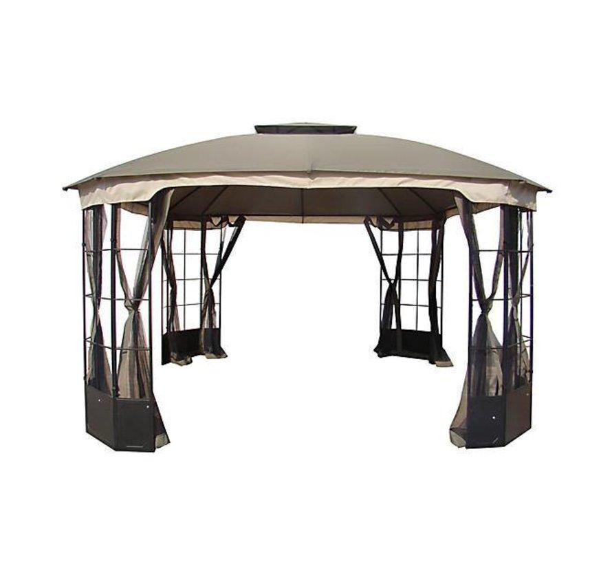 Las Palmas Paviljoen dach