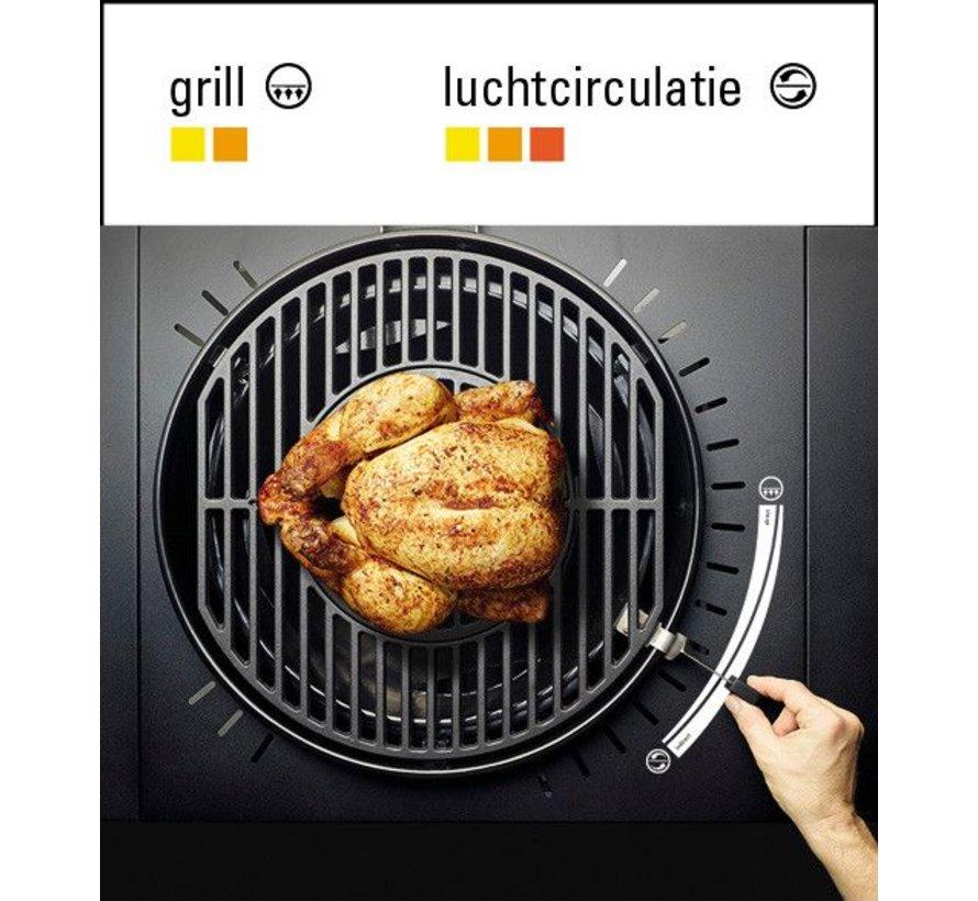 SunSet Gasbarbecue Gomera Black HLS