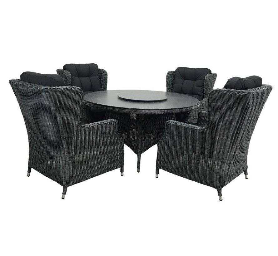 Dining set Chesterfield Rattan
