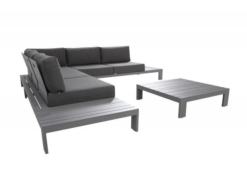 Taste by 4 Seasons Ocean aluminium Platform loungeset