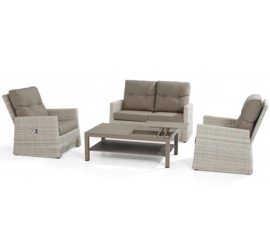 Catania Living Loungeset met Vallarta tafel