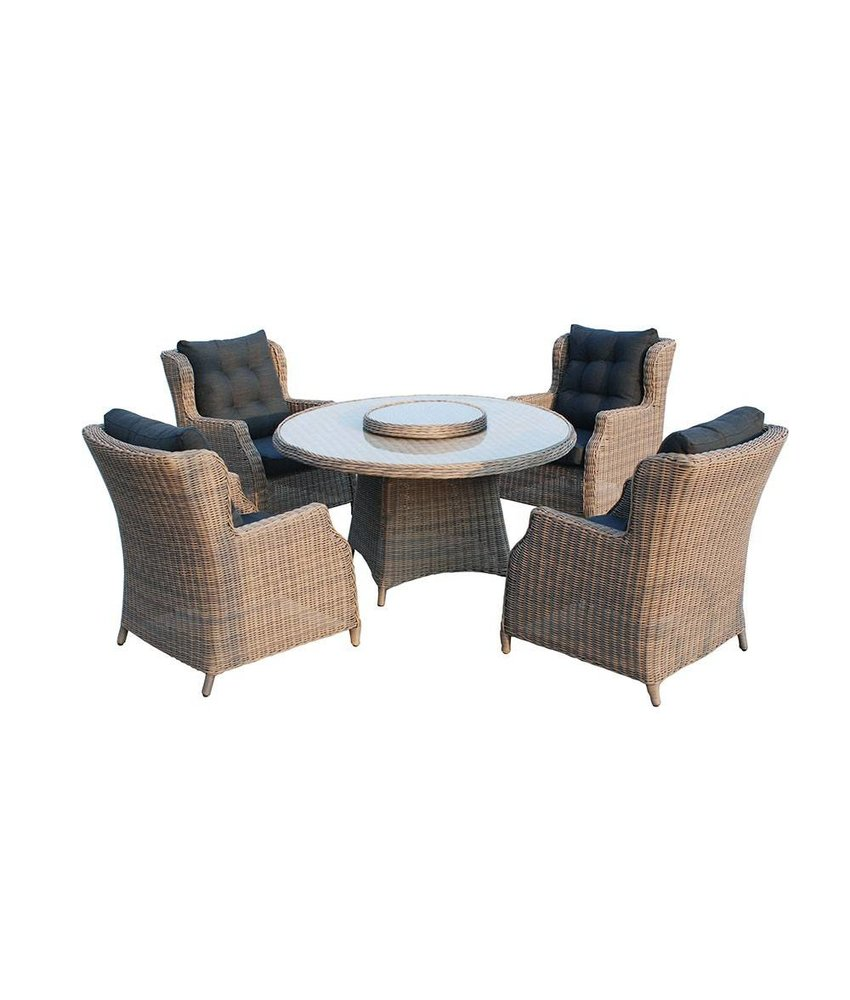 SenS-Line Chesterfield tuinset Polyrattan
