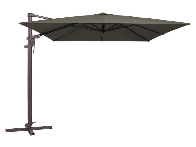 Madison Monaco zweefparasol 300x300 antraciet