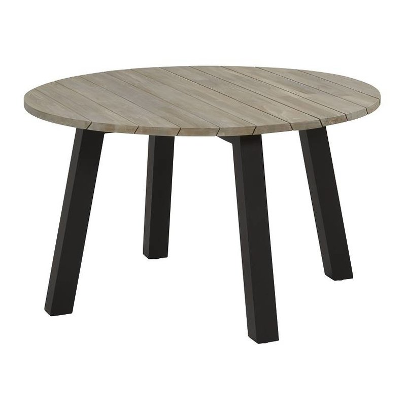Taste by 4 Seasons Derby Teak top tuintafel 130cm Ø