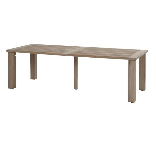 Taste by 4 Seasons outdoor Taste by 4 Seasons Louvre Teak tafel 240cm dining teak tafel