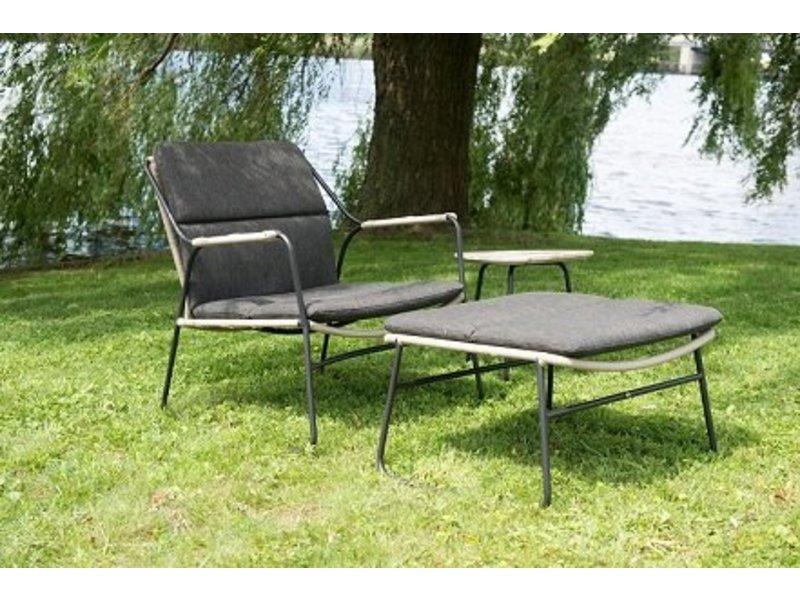 Loungestoel En Hocker.4 Seasons Outdoor Scandic Loungeset Voor Slechts 599