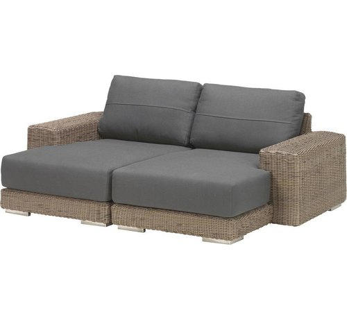 4 Seasons Outdoor Kingston chaise longue loungeset 2-delig