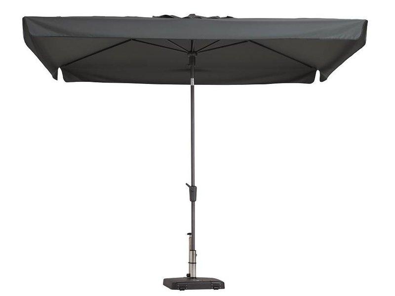 Hangstoel Met Parasol.Madison Delos Luxe 300x200cm Parasol Met Opdraai Tuinmeubelcentrum
