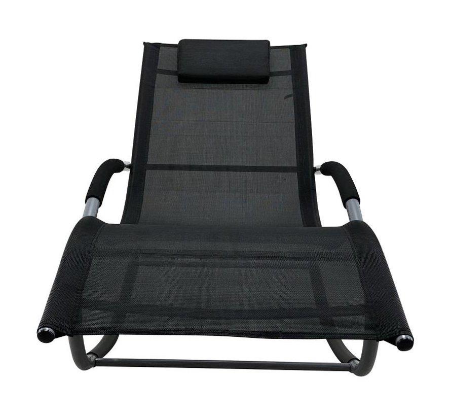 Tahiti luxe ligbed zwart