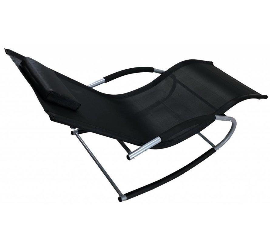 Tahiti luxe schwingliege schwarz