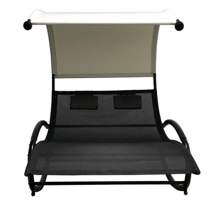 Duo swing XL  schommelstoel zwart