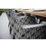 4 Seasons Outdoor Savoy  Diningset 7-Delig met Derby  tuintafel 240cm x 100cm