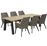 4 Seasons Outdoor Savoy diningset met Derby tafel