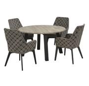 4 Seasons Outdoor Savoy Gartenmöbel mit Derby Tisch rond