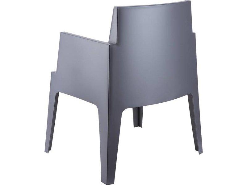 Garden Impressions Box armchair grijs mit Taste by 4 Seasons Louvre tisch 240cm