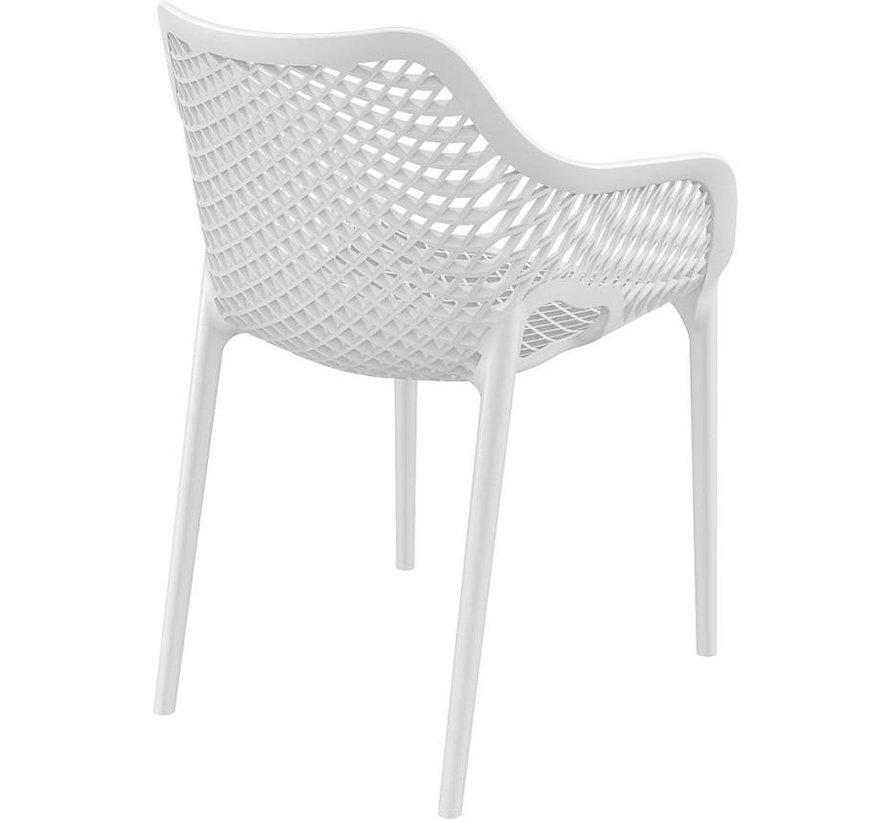 Air XL Gartenstuhl Weiß