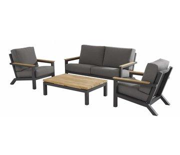 4 Seasons Outdoor Capitol Loungegarnitur 4-teilig