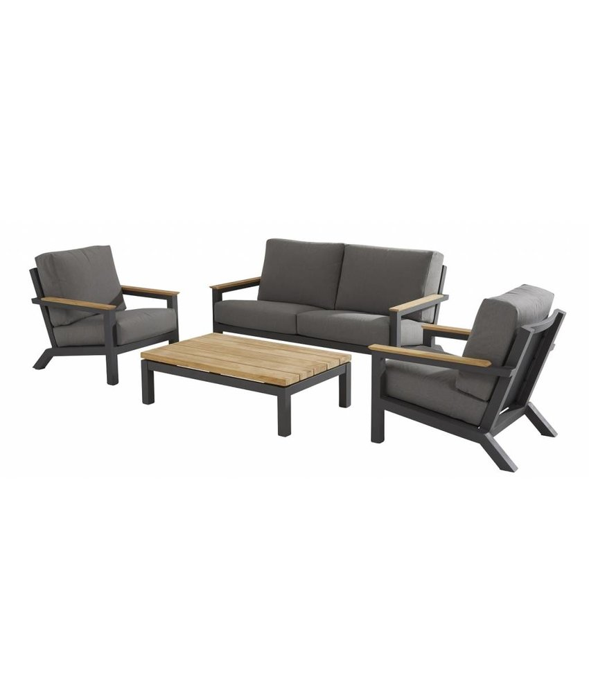 4 Seasons Outdoor Capitol Loungegarnitur 4-teilig