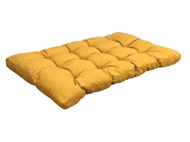Madison Palettenkissen Panama Gelb fur gartenmöbel 120x80cm