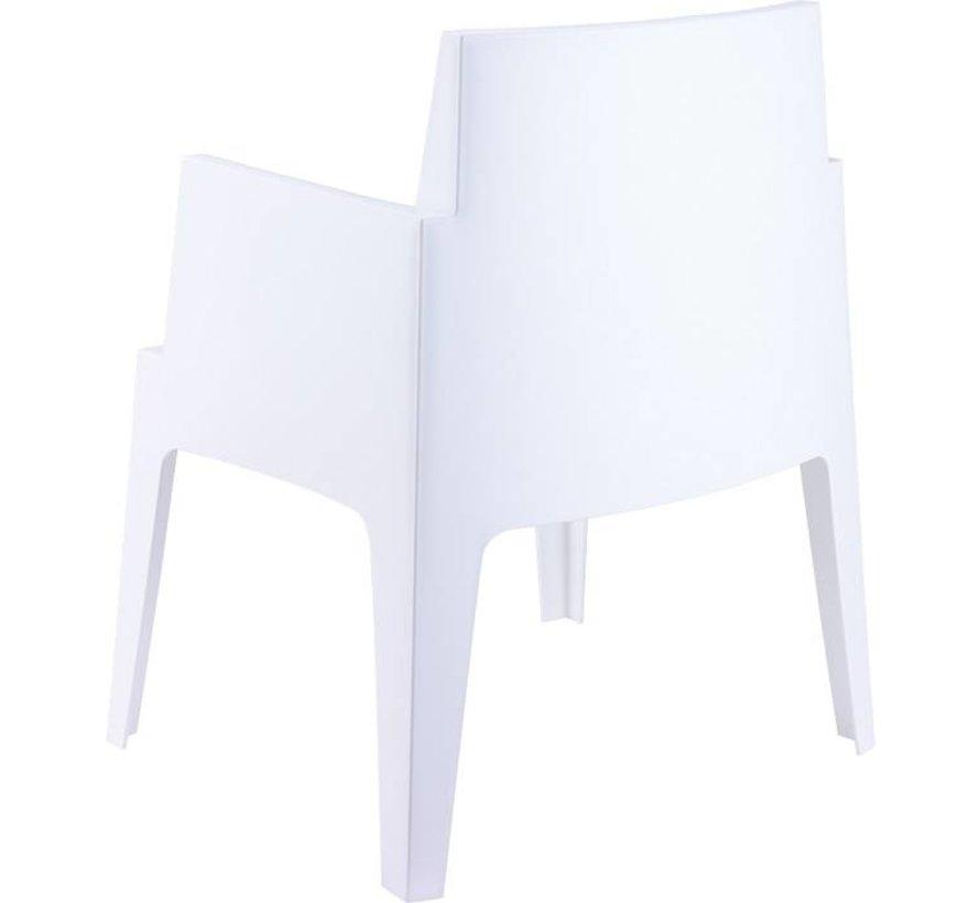 Box Weiß  mit Taste by 4 Seasons Derby tisch 7-teilige gartenmöbel-set