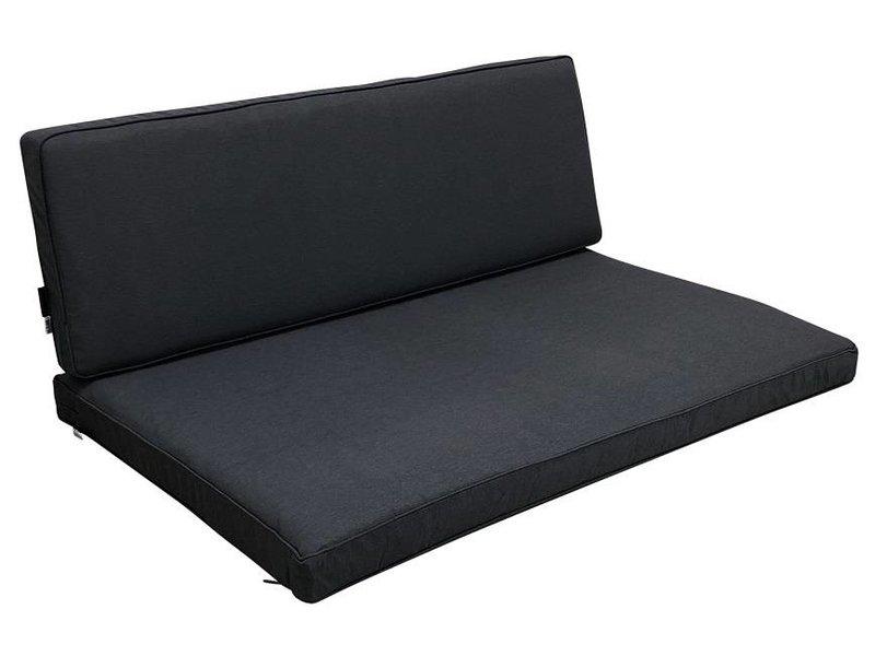 Madison Kissenset für lounge und Palettengartenmöbel Oxford grau Waterproof