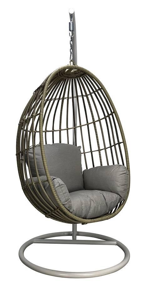 Standaard Egg Chair.Hangstoel Met Standaard Eggchair Paris