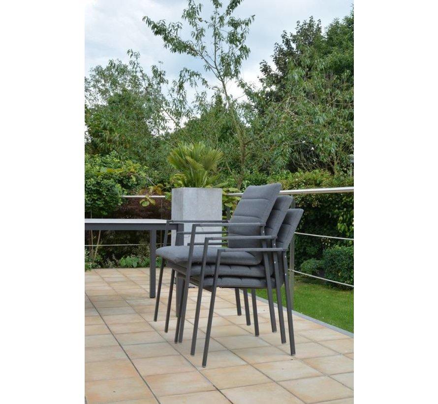 4 Seasons Outdoor Panama  diningset 7-Teilig mit Lafite Gartentisch