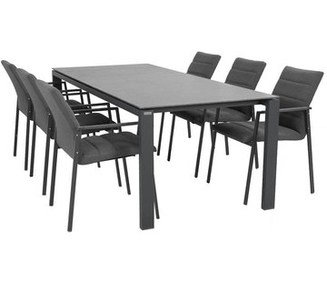 4 Seasons Outdoor Panama dining tuinset met Lafite tafel