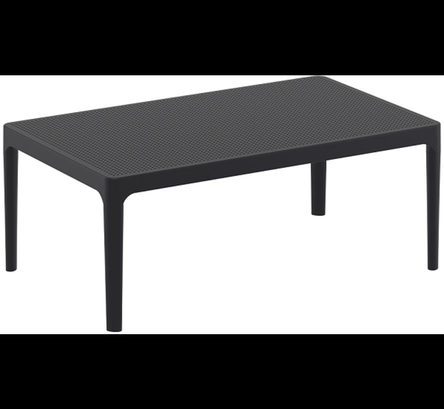 Sky  Lounge Garnitur Antrazit mit Loungetisch 3-teilig