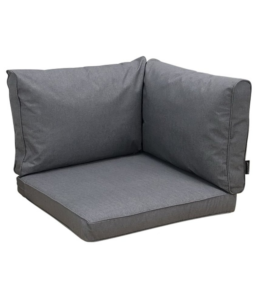 Madison Kissenset Grau für Loungemöbel und Garnitur