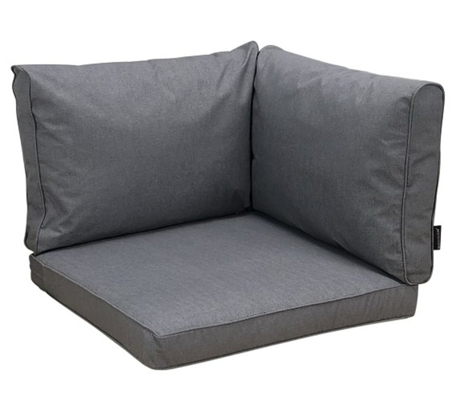 Madison Oxford grijs 3-delige kussenset 60x60 & 60x40cm