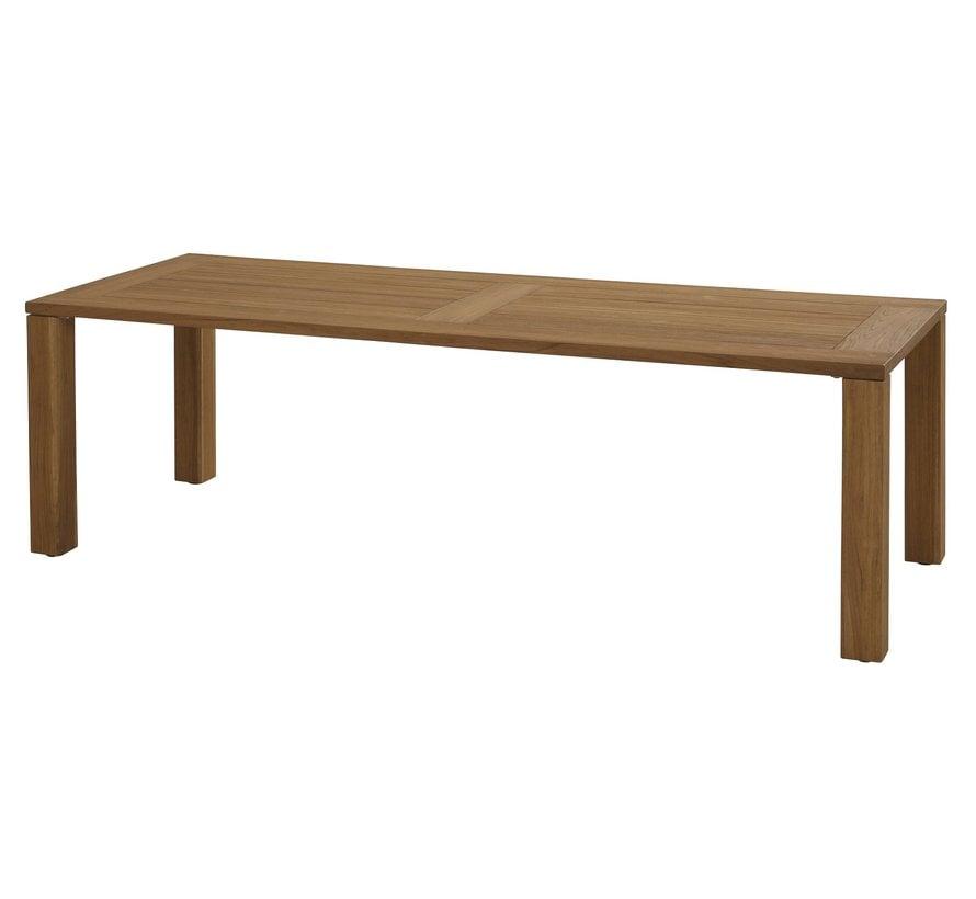 4 Seasons Union Teak Tisch 240cm mit unterstell