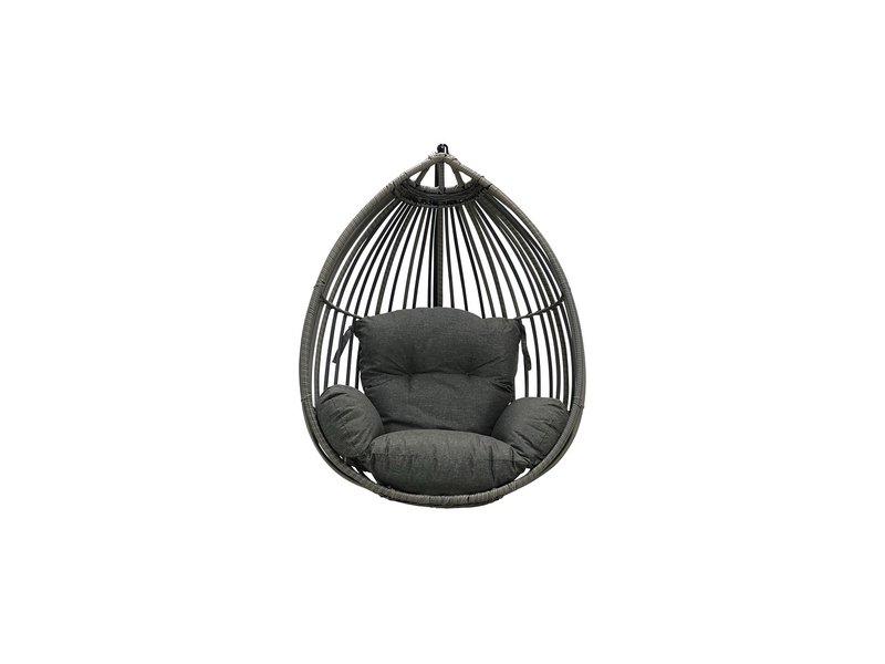 Reint Middel Paris hangstoel Solo Sand-Grey losse eggchair