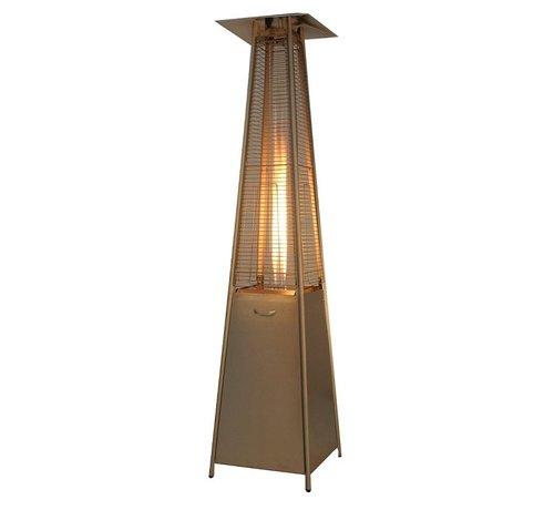 Eiffel Flame Heater RVS