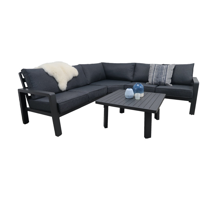 PAZOON Lovely Loungeset 4-delig mit XL Ecke