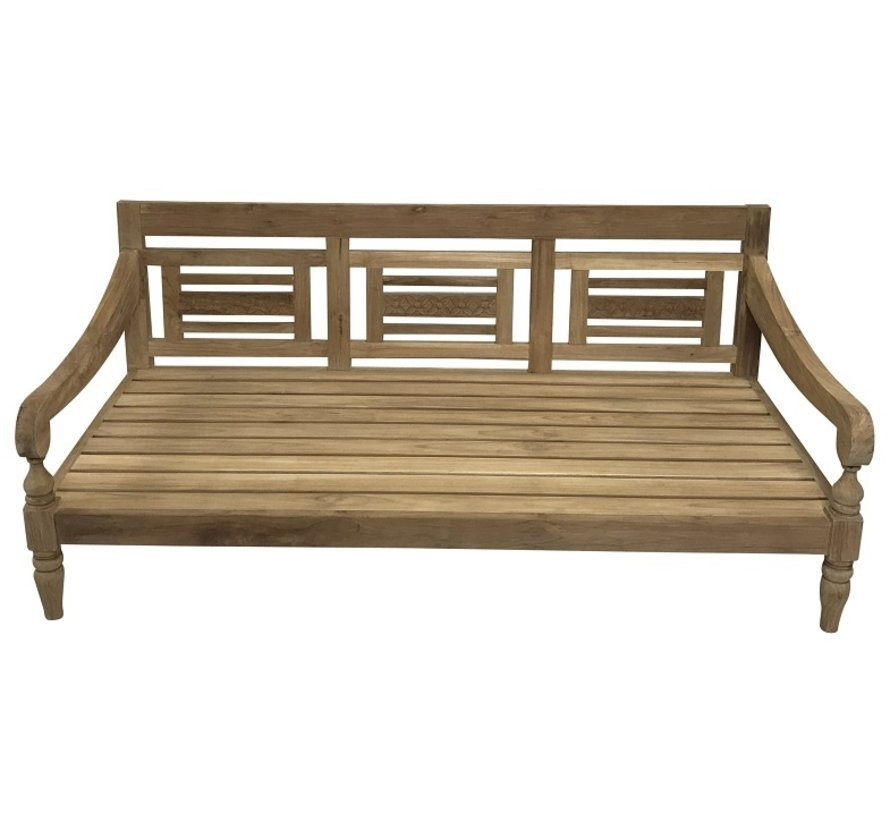 PAZOON Kawan XL Loungebank Recycled Teak