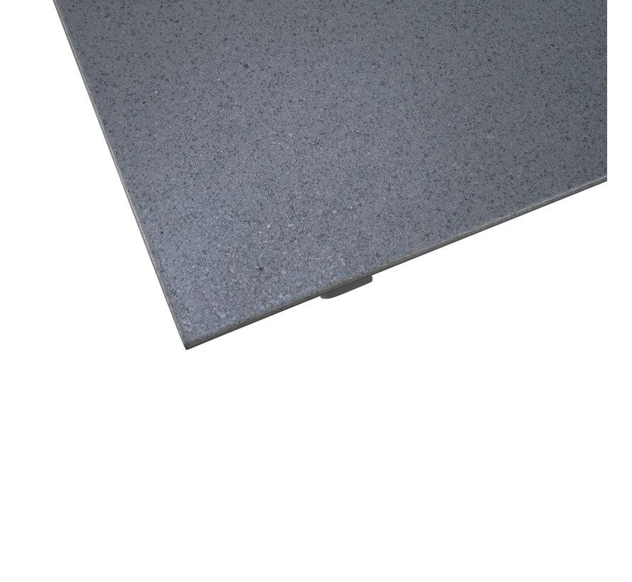 Hartman Sophie Element Misty Grey tuinset met Taste by 4 Seasons Outdoor Vesper Slate Grey 220cm Tuintafel