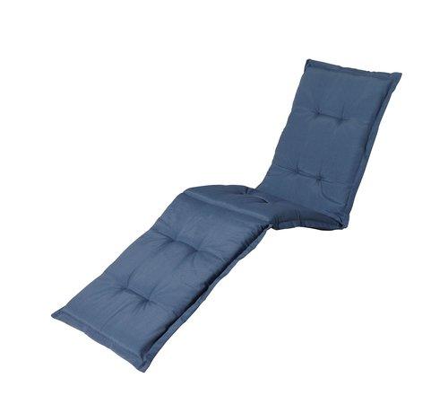 Madison Liegenauflage Panama Saphir Blau 200x60cm
